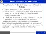 functionality oriented measures function points30