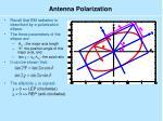 antenna polarization