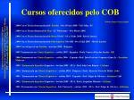 cursos oferecidos pelo cob