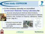 case study ceprocim19