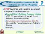 monitoring and assessment in the strategic plans of ectp agenda12
