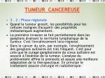 tumeur cancereuse