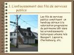 1 l enfouissement des fils de services publics