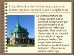 4 le minist re doit initier des actions de protection pour certains biens exceptionnels14