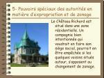 5 pouvoirs sp ciaux des autorit s en mati re d expropriation et de zonage17
