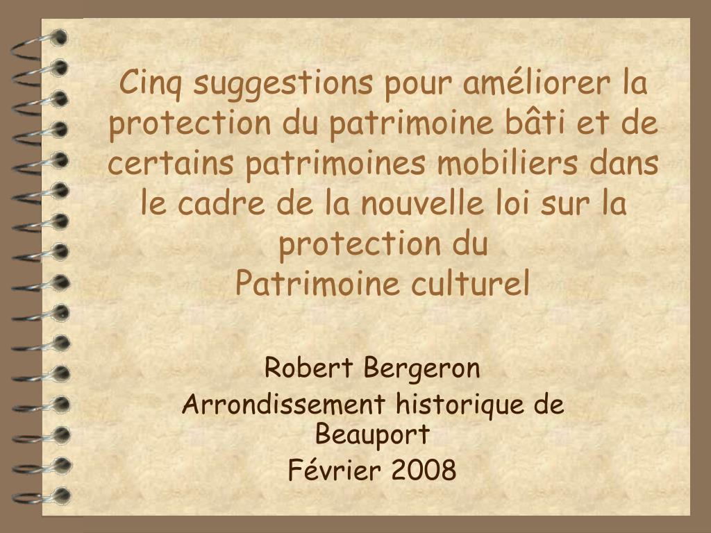 robert bergeron arrondissement historique de beauport f vrier 2008 l.