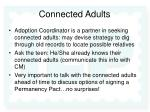 connected adults