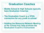 graduation coaches