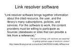 link resolver software