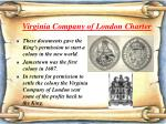 virginia company of london charter