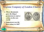 virginia company of london charter17