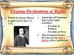 virginia declaration of rights