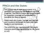 ppaca and the states