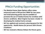 ppaca funding opportunities
