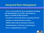 integrated data management