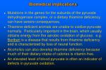 biomedical implications