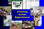 learning across experiences