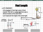find length