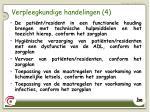 verpleegkundige handelingen 4