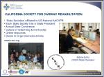 california society for cardiac rehabilitation