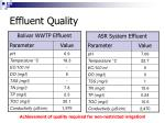 effluent quality57