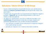 soluzione tabula clinica di ds group