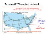 internet2 ip routed network
