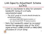 link capacity adjustment scheme lcas