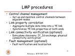 lmp procedures