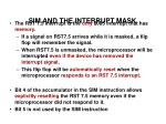 sim and the interrupt mask37