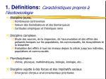 1 d finitions caract ristiques propres l cotoxicologie