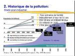 2 historique de la pollution stade post industriel