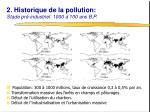 2 historique de la pollution stade pr industriel 1000 100 ans b p