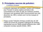 3 principales sources de pollution l industrie chimique