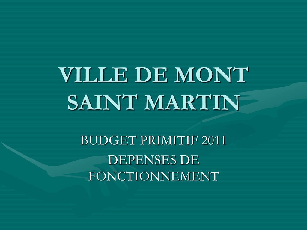 ville de mont saint martin l.