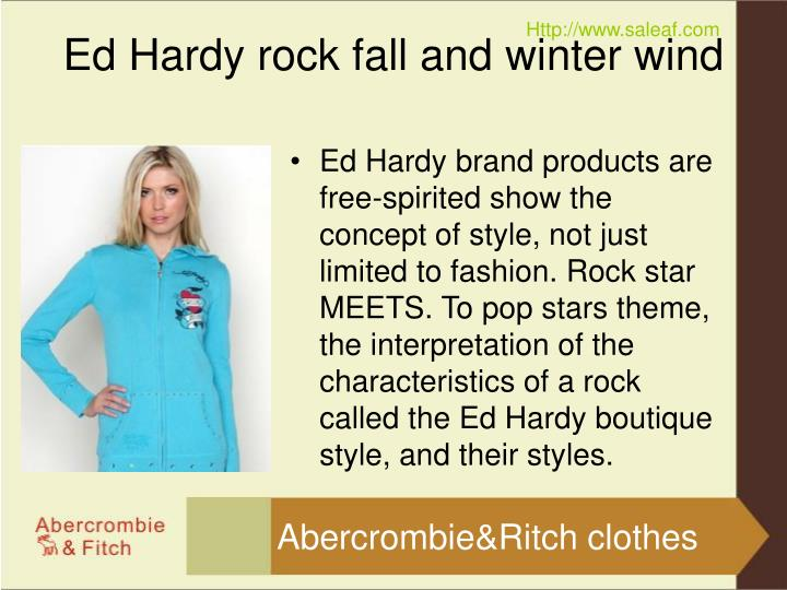 Ed hardy rock fall and winter wind