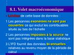 8 1 volet macro conomique8
