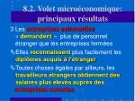 8 2 volet micro conomique principaux r sultats19