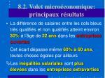 8 2 volet micro conomique principaux r sultats22