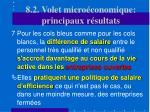 8 2 volet micro conomique principaux r sultats27