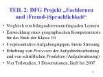 teil 2 dfg projekt fachlernen und fremd sprachlichkeit
