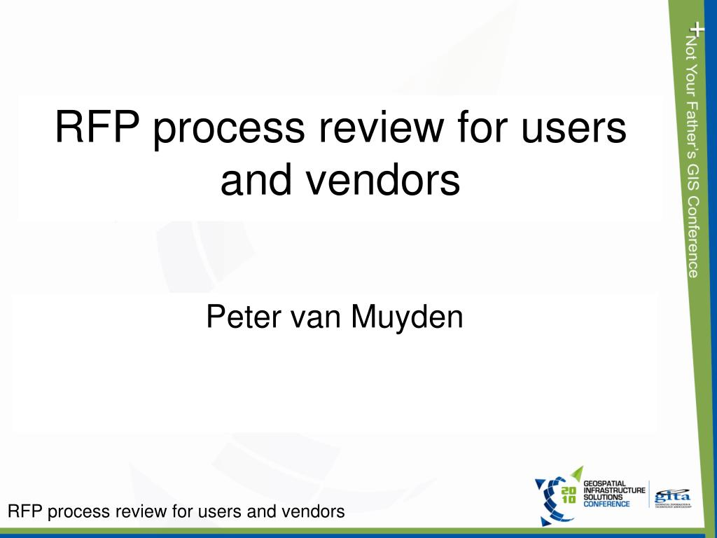 rfp process review for users and vendors l.