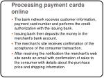 processing payment cards online10