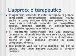 l approccio terapeutico8