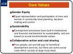 core values17