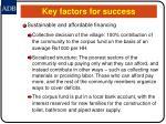 key factors for success22
