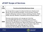 efast scope of services9