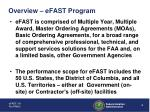 overview efast program4
