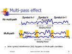 multi pass effect