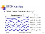 ofdm carriers